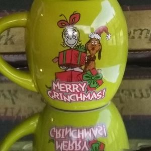 Grinch Christmas coffee mug...